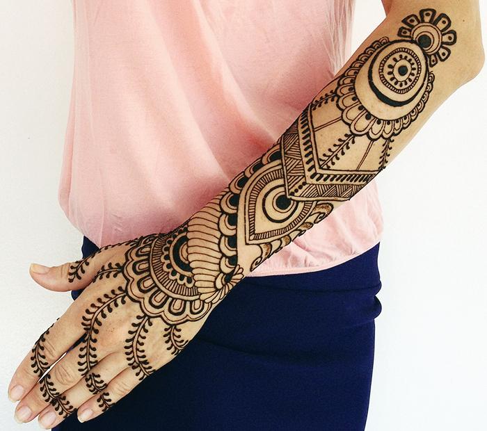 Eid Mehndi Design By Najlas Beauty Parlour | Mehandi ...