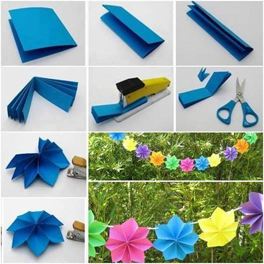 Easy Paper Decoration For Party Art And Creativity