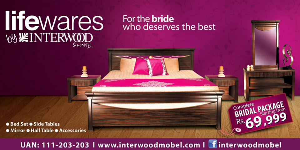 Complete Bridal Package starting from as Rs  69 999   Interwood. Complete Bridal Package starting from as Rs  69 999   Interwood