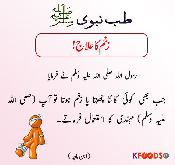 Zakham Ka Ilaj | Tib-e-Nabvi (S.A.W) | Health Tips kfoods.com