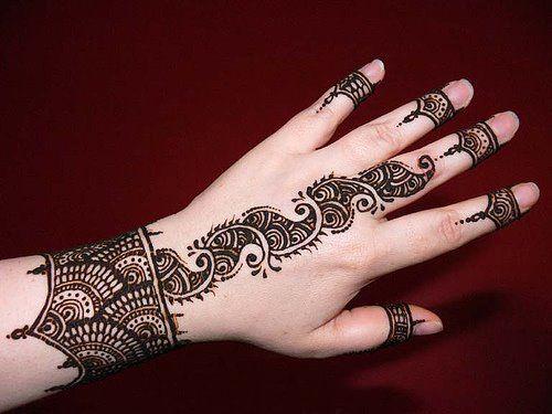 Arabic Finger Mehendi 2014