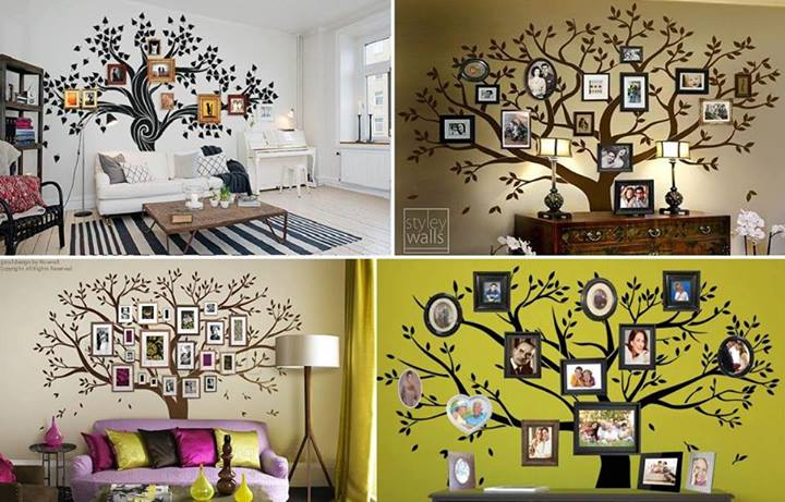 diy tree wall decal