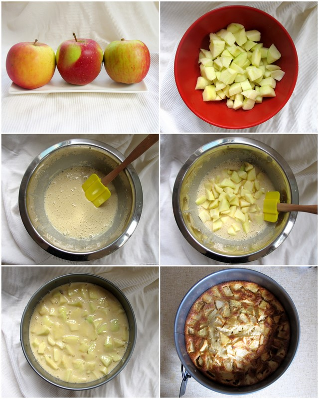 Cake Recipes With Step By Step Images : Easy Apple Cake Rccipe Step By Step Food Images kfoods.com
