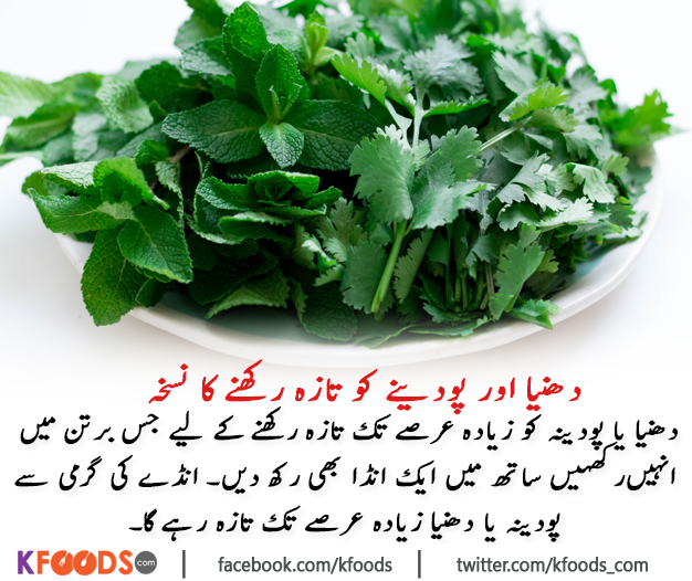 How To Keep Coriander And Mint Leaves Fresh