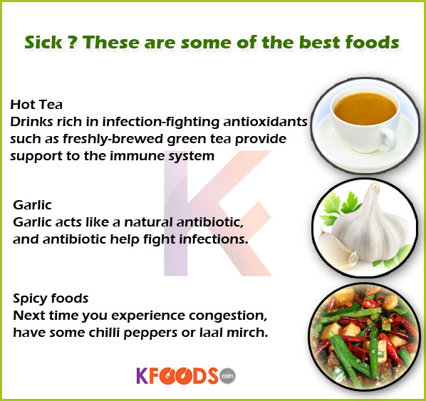 Best Foods For Sick
