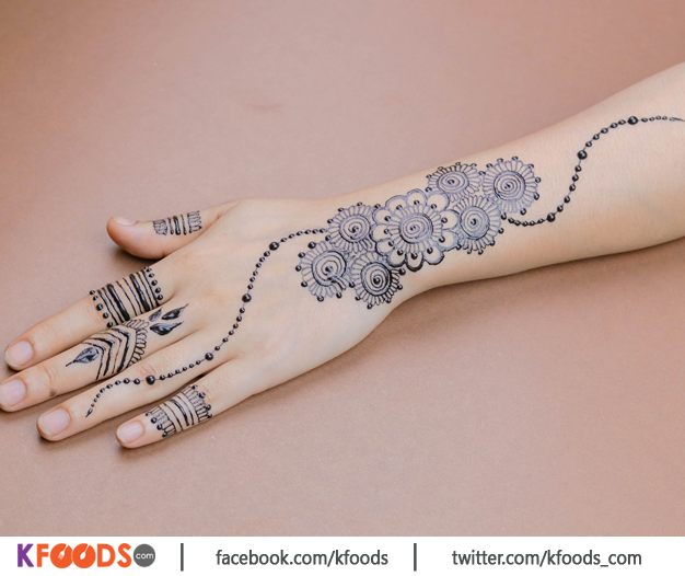New Unique Style Mehndi Design