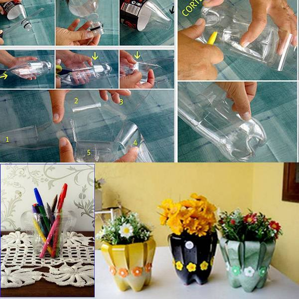 DIY Plastic Bottle Creativity