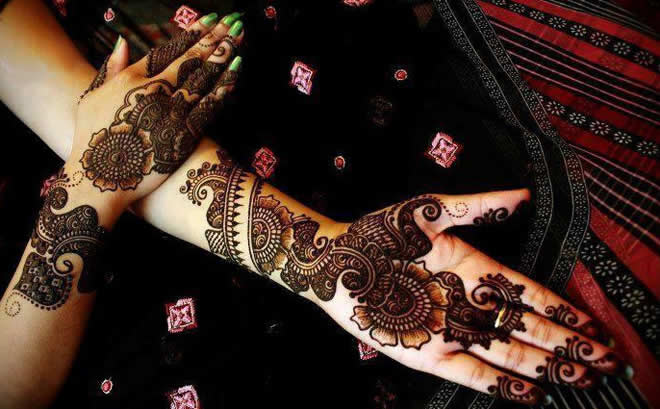 Wedding Special Mehndi Design
