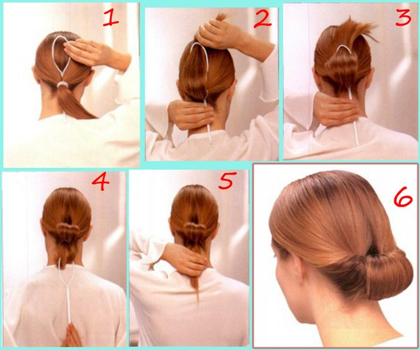 Step by Step Hair Bun Styles