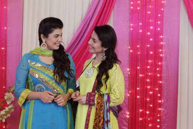 Abeel and Kiran smiling