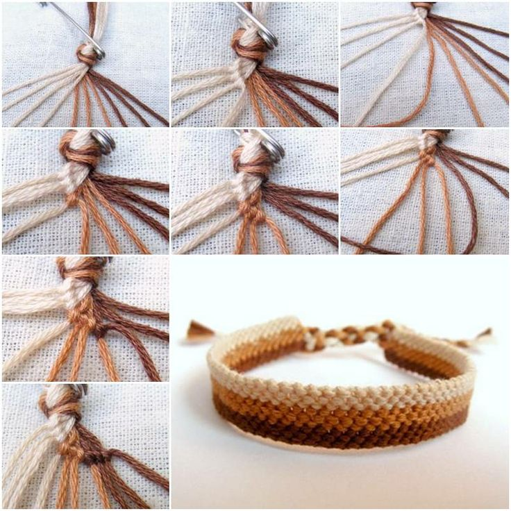 Make Easy Weave Bracelet