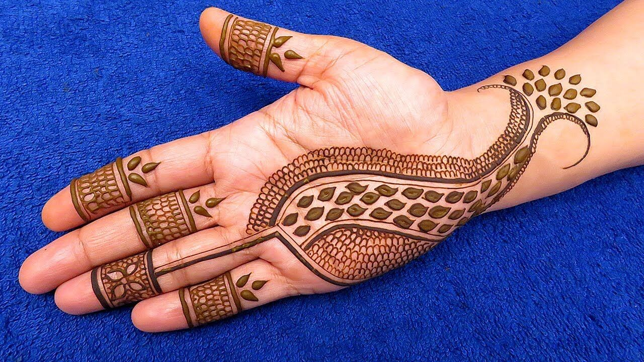 Stylish Full Hand Mehndi Design 2019