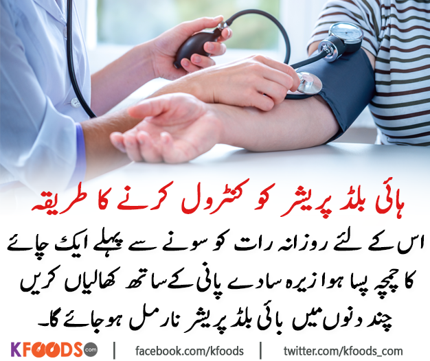 Control High Blood Pressure