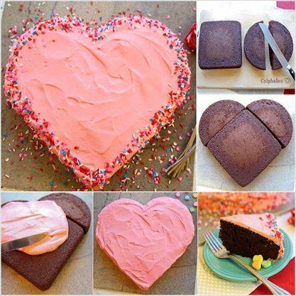 Heart Shape Cake Idea 2015