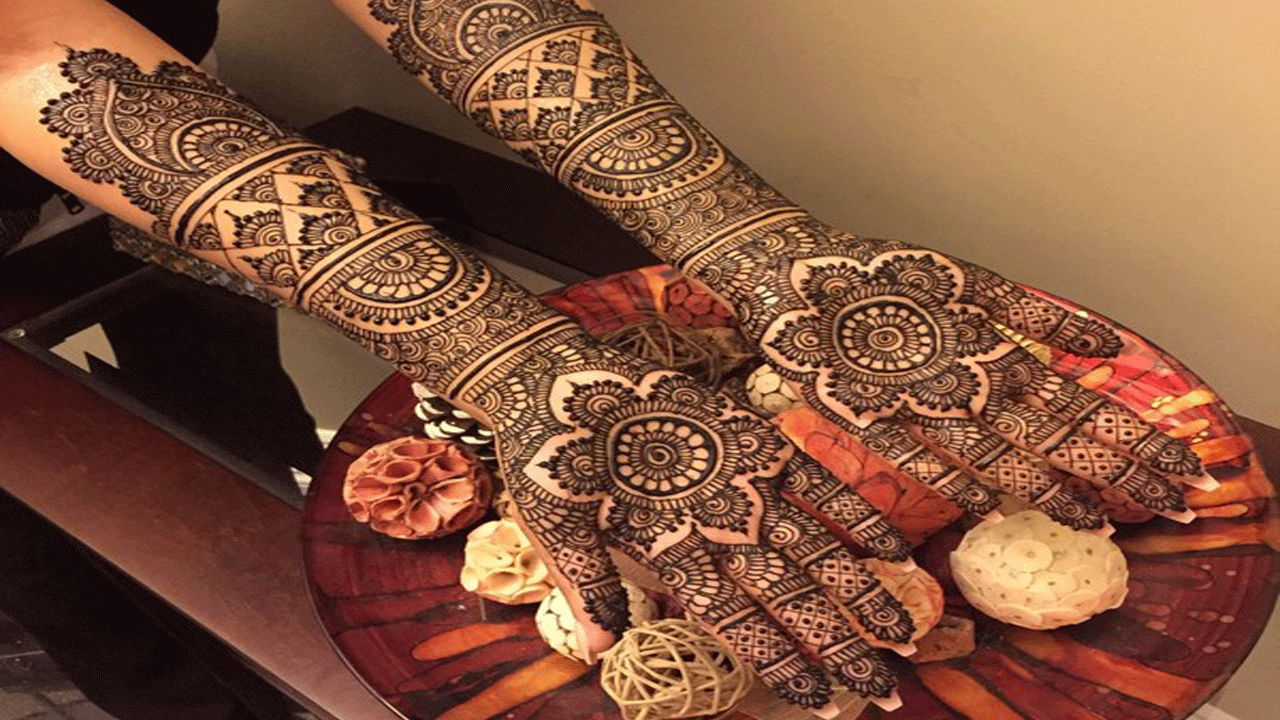 Latest Indian Mehndi Design 2020