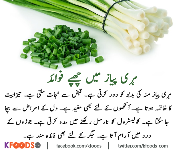 Benefits Of Green Onion