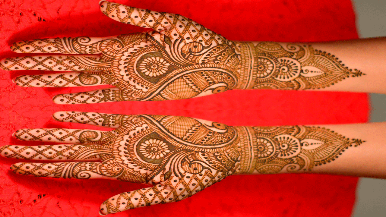 Unique Indian Mehndi Design 2020