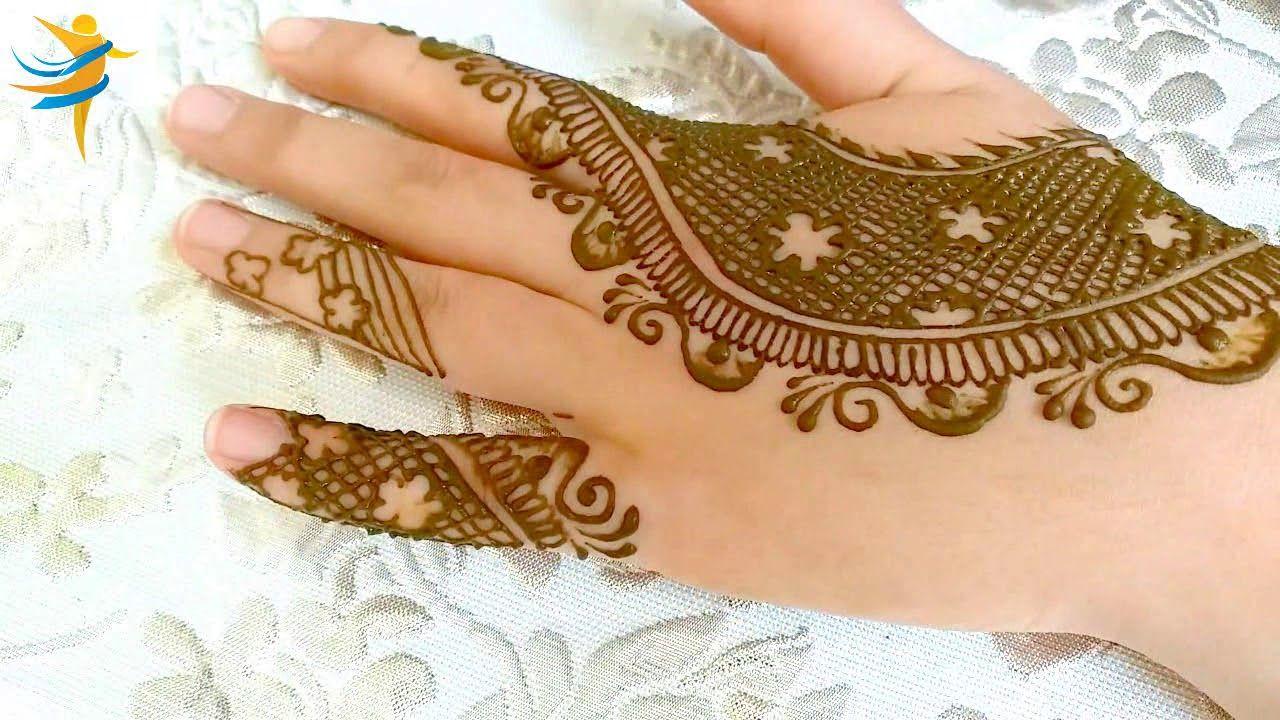 BackHand Eid Mehndi Design 2019
