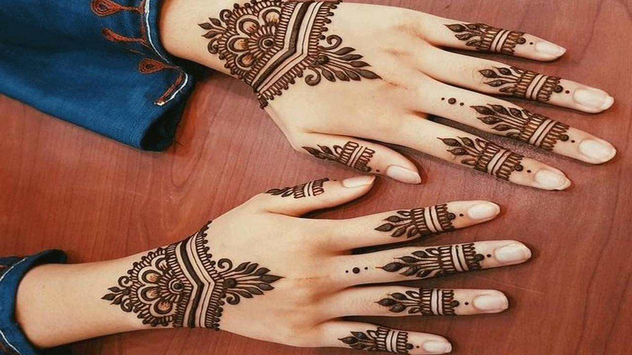 Beautiful Arabic Mehndi Design 2020