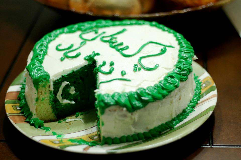 Pakistan Independence Day Cake Designs