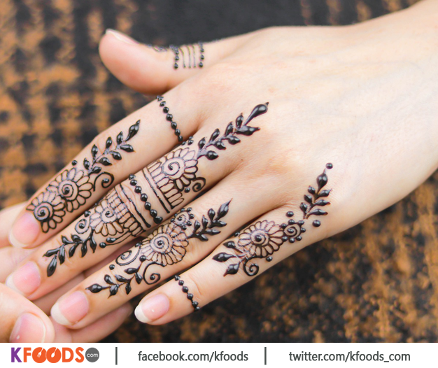 Latest Fingers Mehndi Design