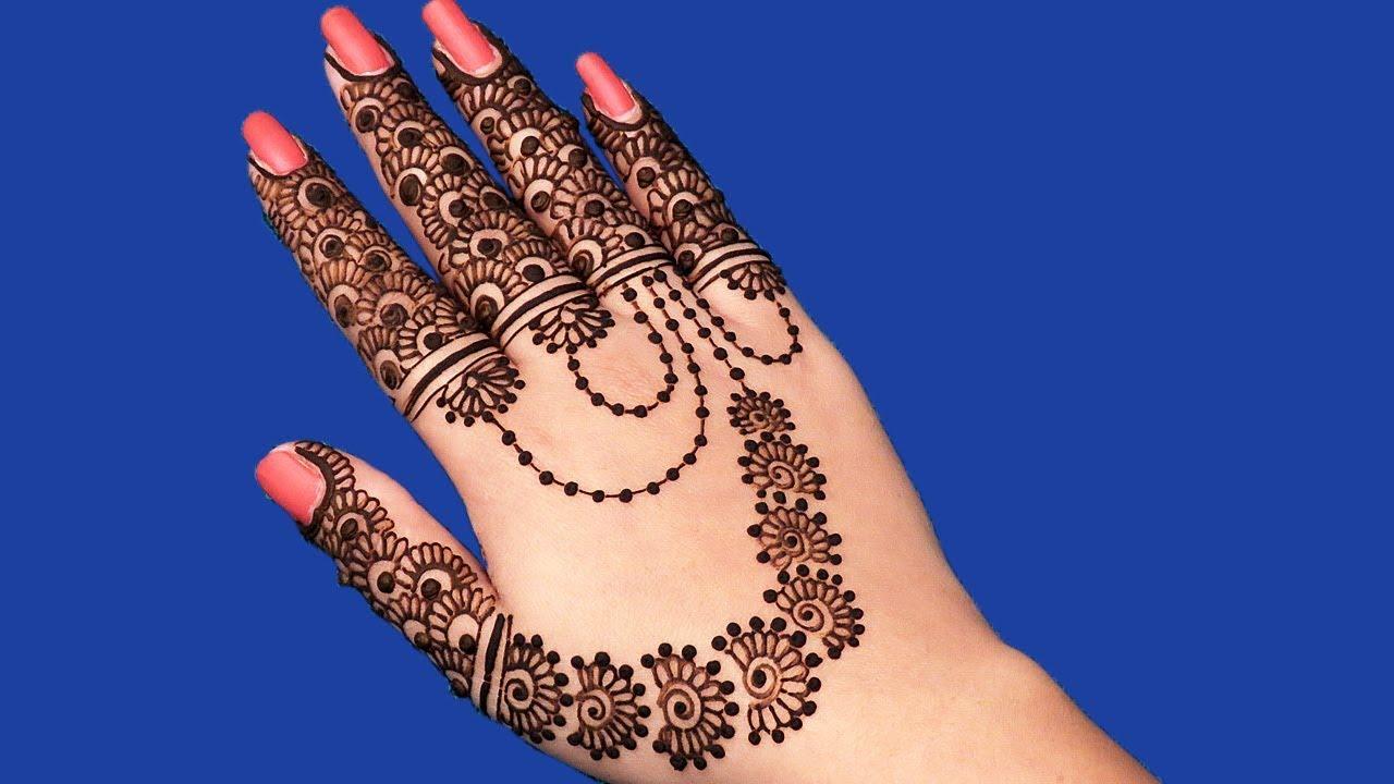Eid ul fitr henna design 2018