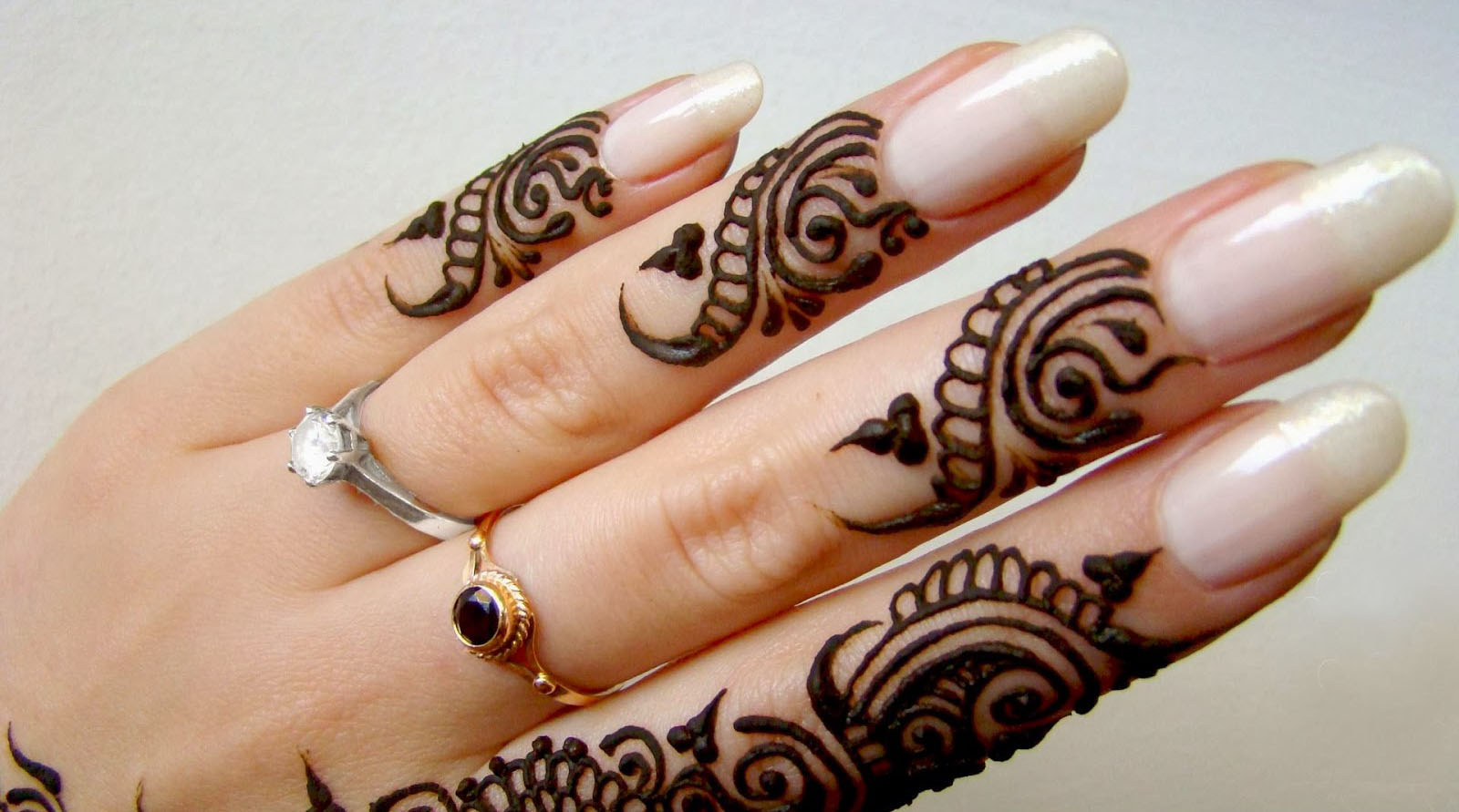 Mehndi Designs For Nails : Mehndi design for nail mehandi designs kfoods