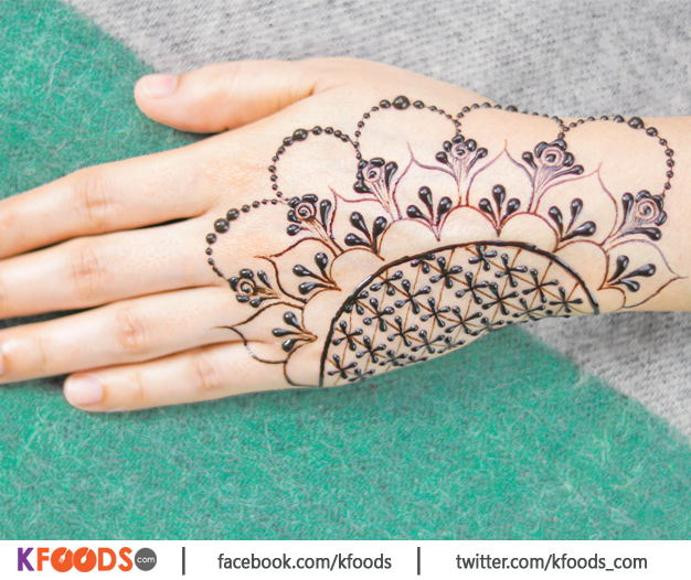Simple Stylish Mehndi Design