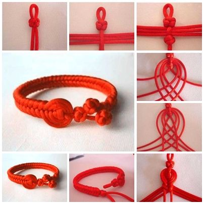 Make Beautiful Red Bracelet