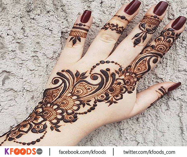 New Iqra Saloon Mehndi Design