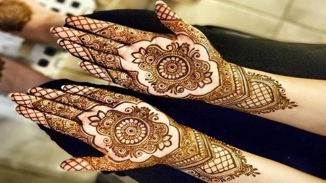 Latest Amna Mehandi Design 2020