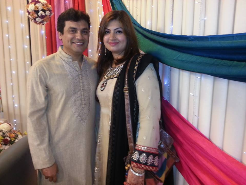 Chef Noreen Amir With Her Husband Chef Image Kfoods Com