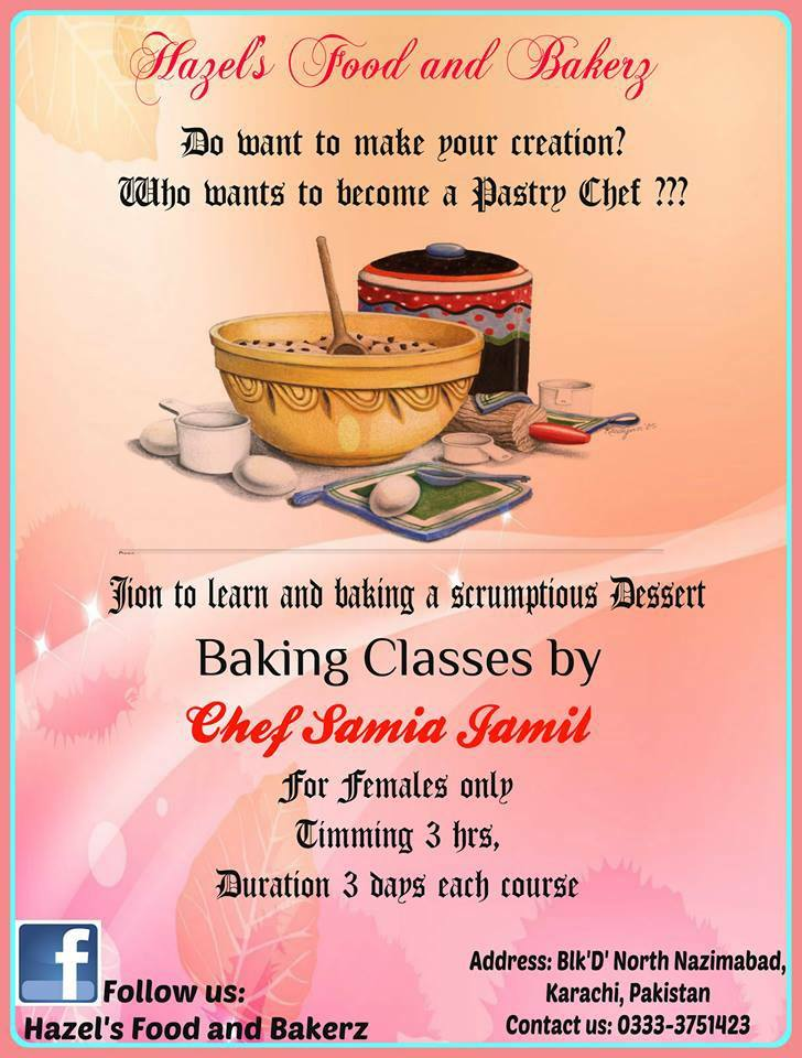 Cooking Classes By Chef Samia Jamil Chef Image Kfoods Com