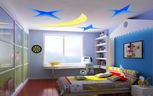 Interior Wall Painting Designs cubist wall decals Kids Room Wall Paint Designs