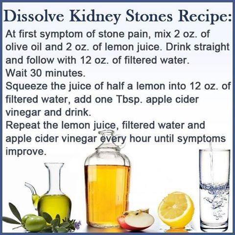 Dissolve Kidney Stones Recipe! | Health Tips kfoods.com