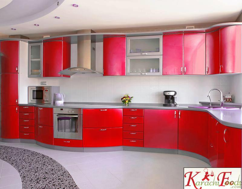 Latest Designs In Kitchens Pleasing Latest Pakistani Kitchen Design  Kitchen Designs Kfoods Decorating Design