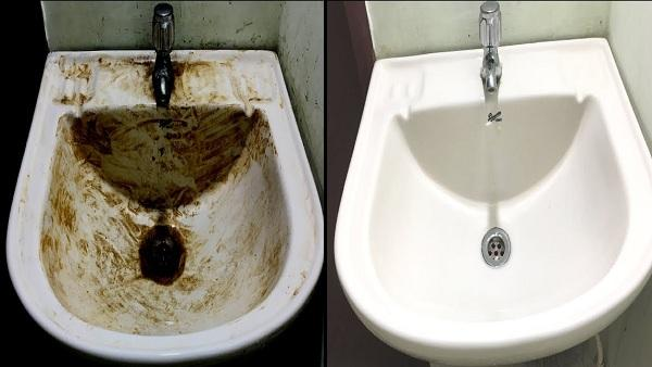 How to Clean a Bathroom Sink