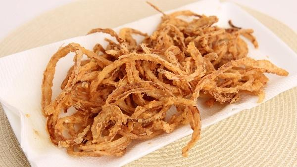 Easy Way To Make Crispy Onions